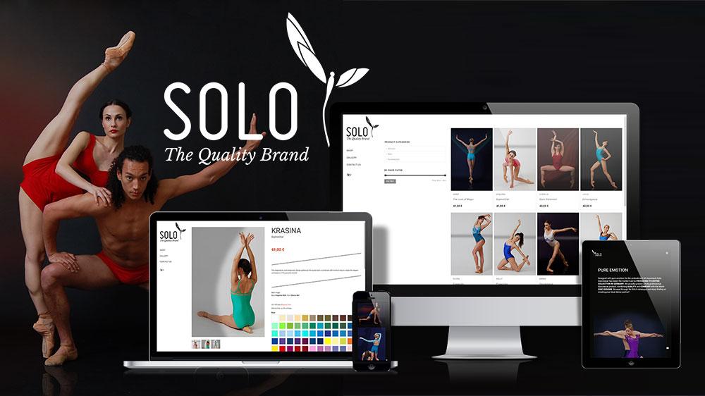 SOLO Dancewear Portfolio